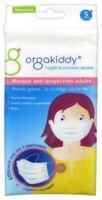 Orgakiddy Masque Protection Blanc Adulte Pochette/5 à Paris