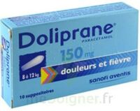 Doliprane 150 Mg Suppositoires 2plq/5 (10) à Paris