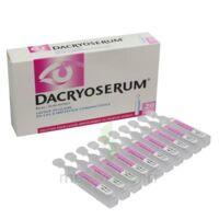 Dacryoserum Solution Pour Lavage Ophtalmique En Récipient Unidose 20unidoses/5ml à Paris