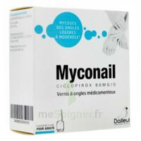 Myconail 80 Mg/g, Vernis à Ongles Médicamenteux à Paris