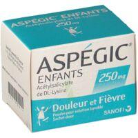 Aspegic Enfants 250, Poudre Pour Solution Buvable En Sachet-dose à Paris
