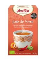 Yogi Tea Tisane Ayurvédique Joie De Vivre Bio 17 Sachets/1,8g à Paris