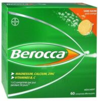 Berocca Comprimés Effervescents Sans Sucre T/60 à Paris