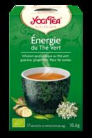 Yogi Tea Thé Energie Du Thé Vert Bio 17 Sachets/1,8g à Paris