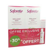 Acheter Saforelle Solution soin lavant doux 2*500ml+100ml à Paris