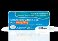 Magnesium/vitamine B6 Mylan 48 Mg/5 Mg, Comprimé Pelliculé à Paris