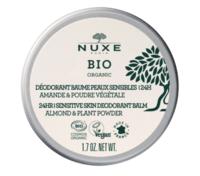 Nuxe Bio Déodorant Baume Fraîcheur 24h Peaux Sensibles Pot/50g à Paris