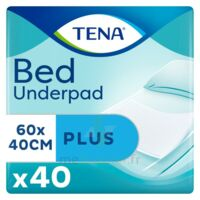 Tena Bed Plus Alèze Intraversable Usage Unique 40x60cm Sachet/40 à Paris